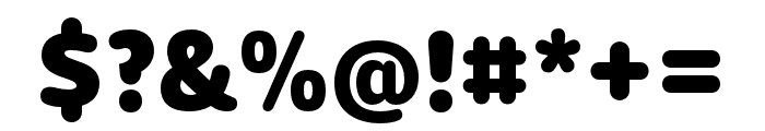 Dita Extrabold Font OTHER CHARS