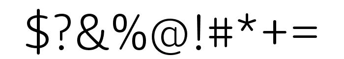 Dita Light Font OTHER CHARS