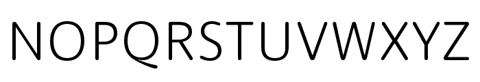 Dita Light Font UPPERCASE