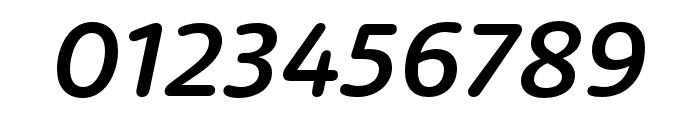 Dita Medium Italic Font OTHER CHARS