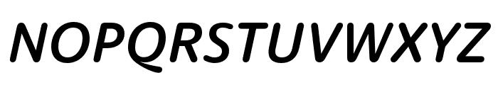 Dita Medium Italic Font UPPERCASE