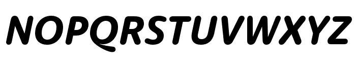 Dita Wd Bold Italic Font UPPERCASE