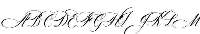 DomLovesMary Text Regular Font UPPERCASE