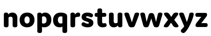Domus Extrabold Font LOWERCASE