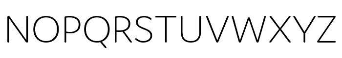 Domus Extralight Font UPPERCASE