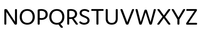 Domus Regular Font UPPERCASE