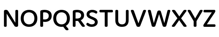 Domus Semibold Font UPPERCASE