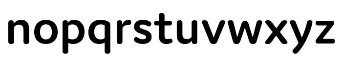 Domus Semibold Font LOWERCASE