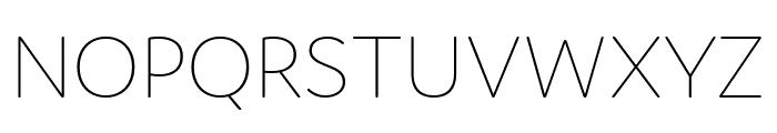 Domus Ultralight Font UPPERCASE