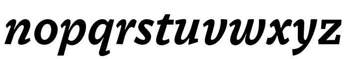 Dovetail MVB Bold Italic Font LOWERCASE