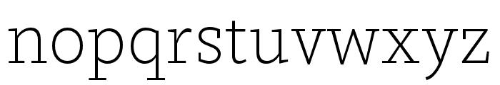 Dovetail MVB Extra Light Font LOWERCASE