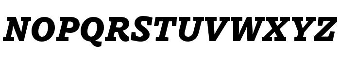Dovetail MVB Heavy Italic Font UPPERCASE