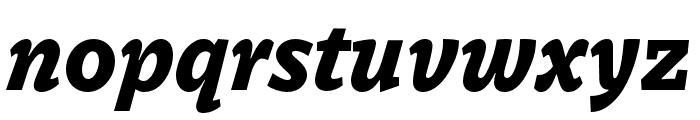 Dovetail MVB Heavy Italic Font LOWERCASE