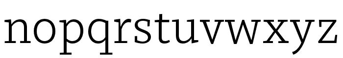 Dovetail MVB Light Font LOWERCASE