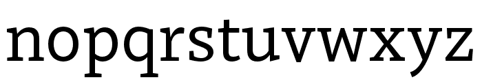 Dovetail MVB Regular Font LOWERCASE