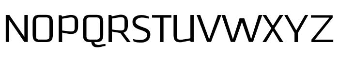 Downtempo Light Regular Font UPPERCASE