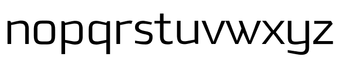 Downtempo Light Regular Font LOWERCASE