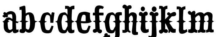 Drunk Cowboy Regular Font LOWERCASE