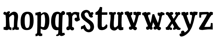 Dry Cowboy Regular Font LOWERCASE