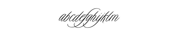 Duende Light Pro Light Font LOWERCASE