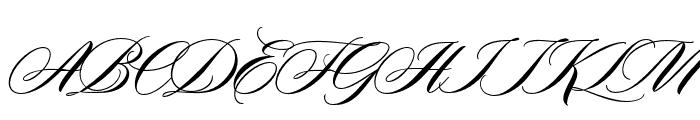 Duende Pro Regular Font UPPERCASE