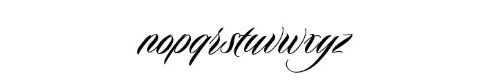 Duende Pro Regular Font LOWERCASE