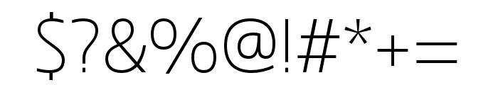 Dulcian Cond Light Font OTHER CHARS
