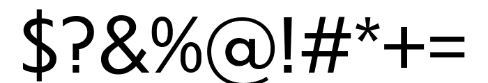 Dunbar Low Book Font OTHER CHARS