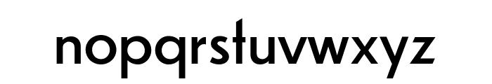 Dunbar Low Book Font LOWERCASE