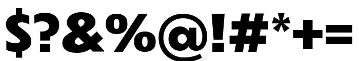 Dunbar Tall Extra Bold Font OTHER CHARS