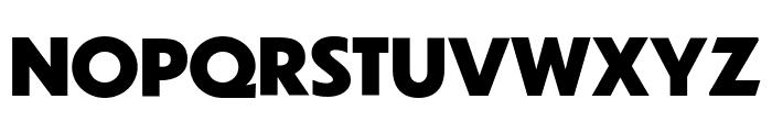 Dunbar Tall Extra Bold Font UPPERCASE