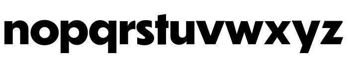 Dunbar Tall Extra Bold Font LOWERCASE