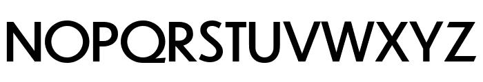 Dunbar Tall Regular Font UPPERCASE