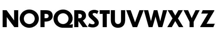 Dunbar Text Bold Font UPPERCASE