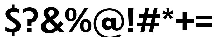Dunbar Text Medium Font OTHER CHARS