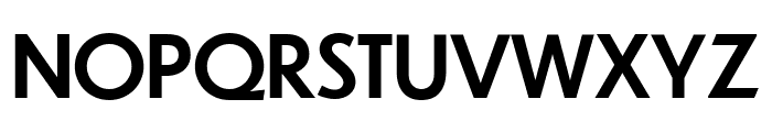 Dunbar Text Medium Font UPPERCASE