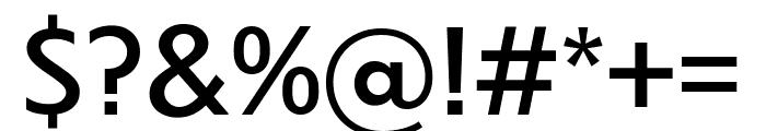 Dunbar Text Regular Font OTHER CHARS