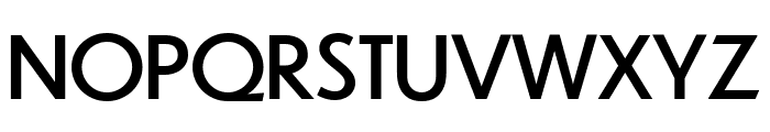 Dunbar Text Regular Font UPPERCASE