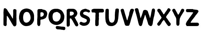 Duper Bold Font UPPERCASE