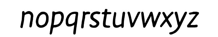 Duper Pro Regular Italic Font LOWERCASE