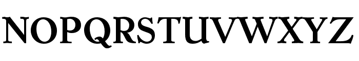 Dutch Mediaeval Pro Bold Font UPPERCASE