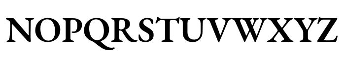 EB Garamond SemiBold Font UPPERCASE