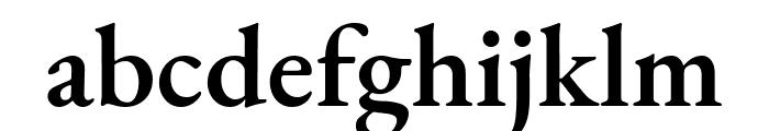 EB Garamond SemiBold Font LOWERCASE