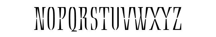 Ecru Regular Font UPPERCASE