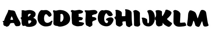 Eds Market Main Script Regular Font UPPERCASE