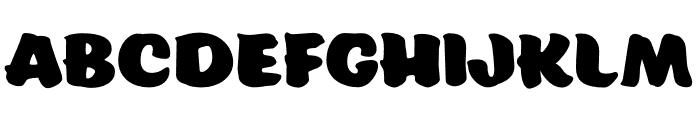 Eds Market Wide Regular Font LOWERCASE