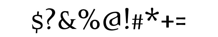 Eidetic Neo OT Omni Font OTHER CHARS