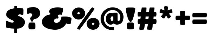 El Grande Regular Font OTHER CHARS