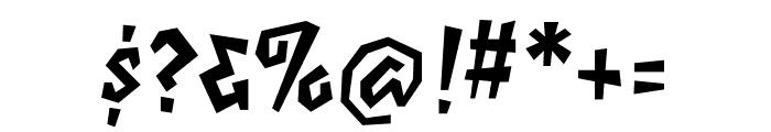 Elektrix OT Bold Font OTHER CHARS