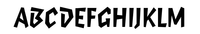 Elektrix OT Bold Font UPPERCASE
